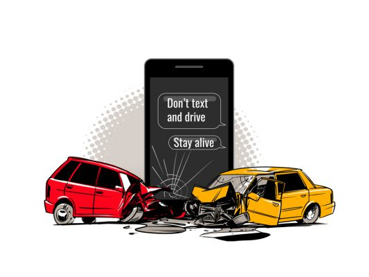 Texting and Driving Habit is not easy to Break