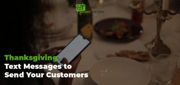 Thanksgiving Text Messages to Send Your Customers