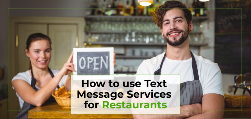 How to Use Text Message Services for Restaurants