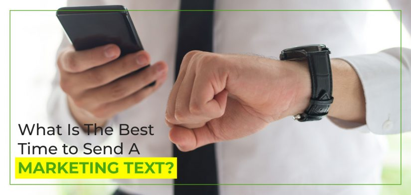 What is the best time to send a marketing text?