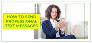 How to Send Professional Text Messages